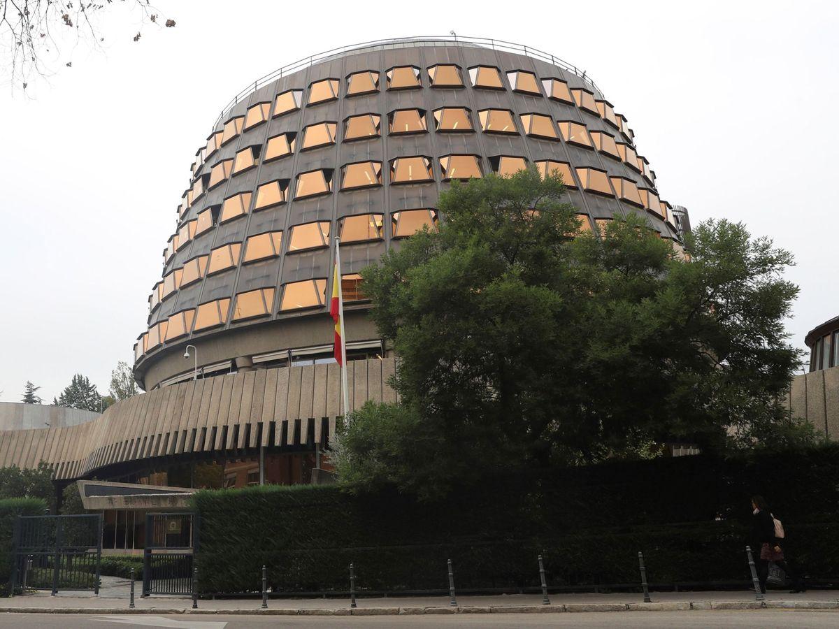 Foto: Fachada del Tribunal Constitucional. (EFE)