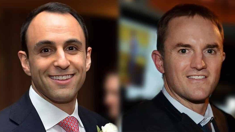 Scott Shleifer (izquierda), gurú de inversiones en Tiger Global, y Chase Coleman (derecha), fundador de la compañía.