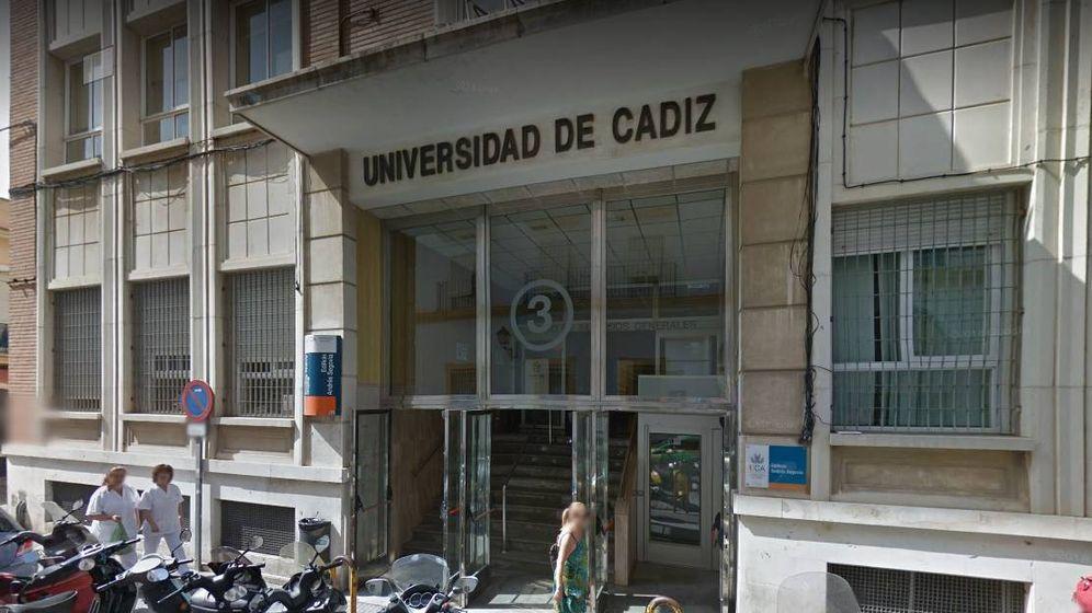 Foto: Fachada de la Universidad de Cádiz (Google Maps)