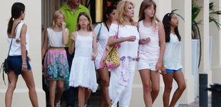 Post de Tita Cervera, una madre modelo de vacaciones en Ibiza