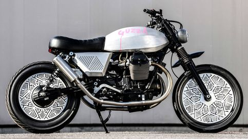 La moto customizada de Tom Dixon