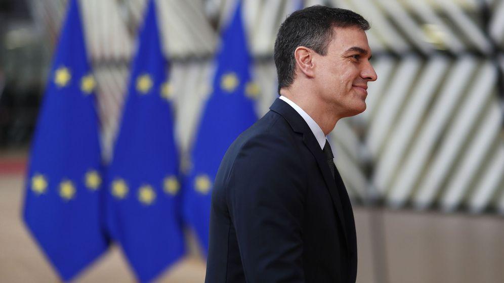 Foto: Sánchez llegando a una cumbre europea. (EFE)
