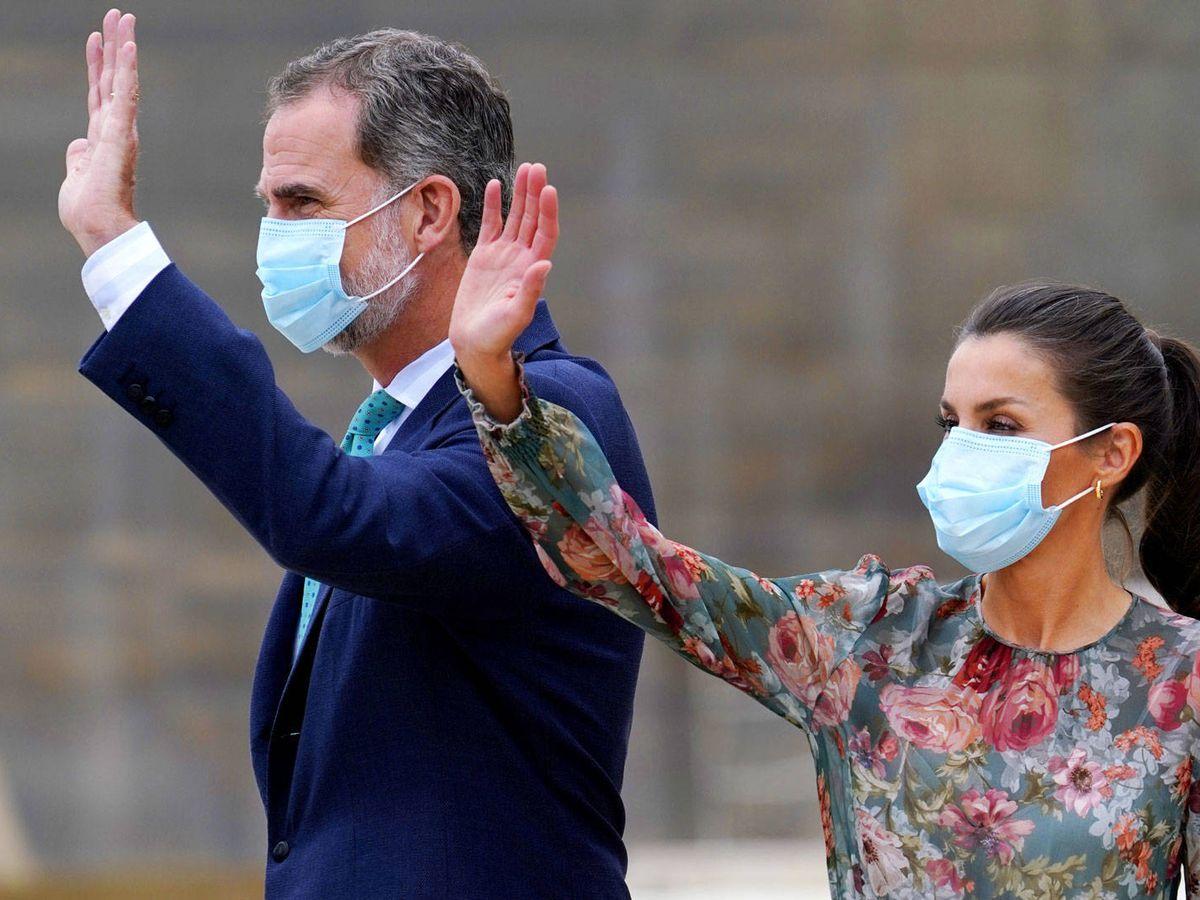 Foto: Felipe y Letizia, durante la gira. (Reuters)