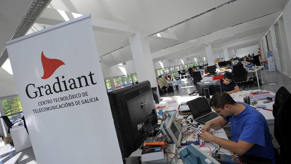 Foto: La sección de Biometría del centro Gradiant, en Vigo. (Miguel Riopa)