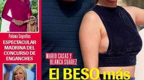 El beso de Blanca Suárez y Mario Casas y la preocupación de Ana Obregón