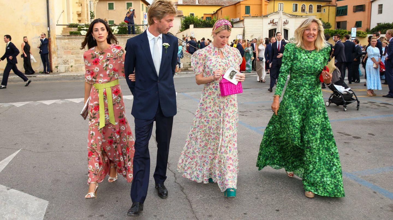 Christian de Hanover, Alessandra de Osma, la princesa Ekaterina de Hanover y Chantal Hochuli. (Gtres)