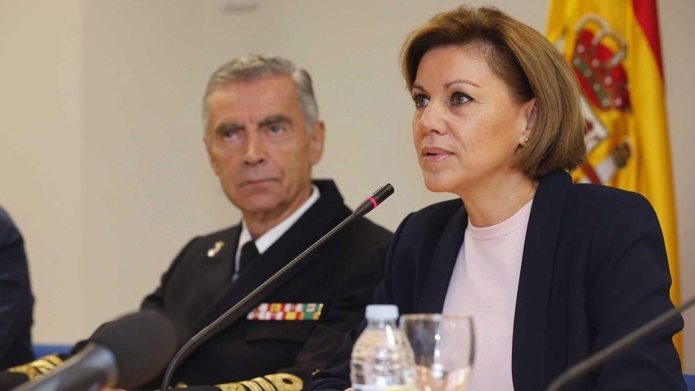 Foto: La nueva ministra de Defensa, María Dolores de Cospedal. (Efe).