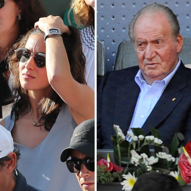 Foto: Xisca Perelló y el rey emérito Don Juan Carlos