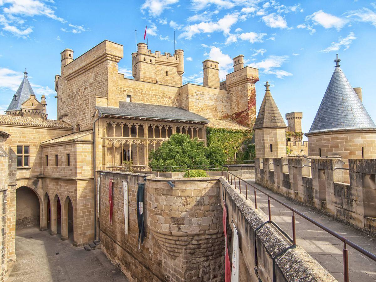 Foto: Castillo de Olite en Navarra (Fuente: iStock)