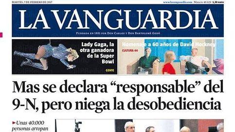 Juicio a Artur Mas por el 9-N: así cubre la prensa nacional la primera jornada en sus portadas