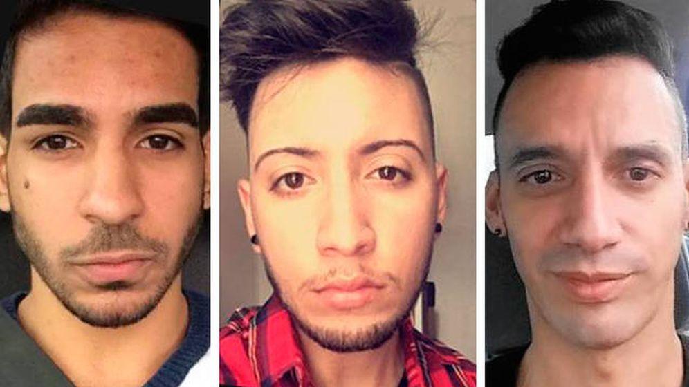 Foto: Tres de las víctimas que este fin de semana han perdido la vida en Orlando