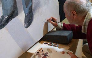 Antonio López pinta el final de la Transición