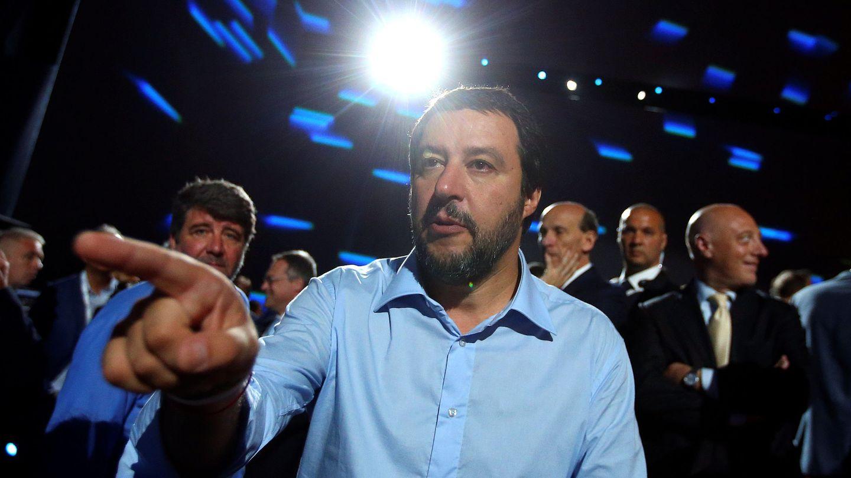 El ministro del Interior Matteo Salvini ha celebrado como una victoria el desenlace de la crisis. (Reuters)