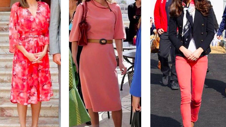Tres royals con tres tonalidades del color del año. (Pinterest)