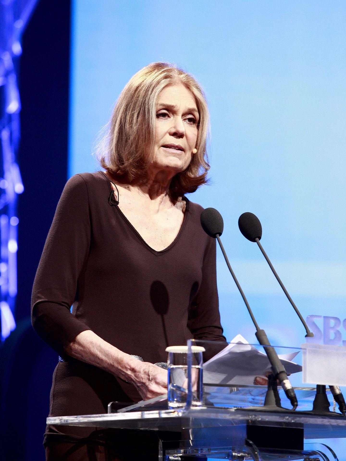 Gloria Steinem, en una imagen de archivo. (EFE)