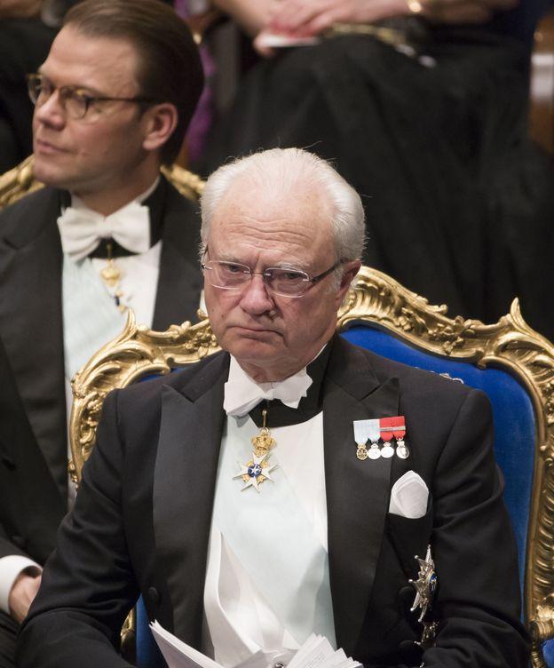 Foto: El rey de Suecia en una imagen de archivo (Gtres)