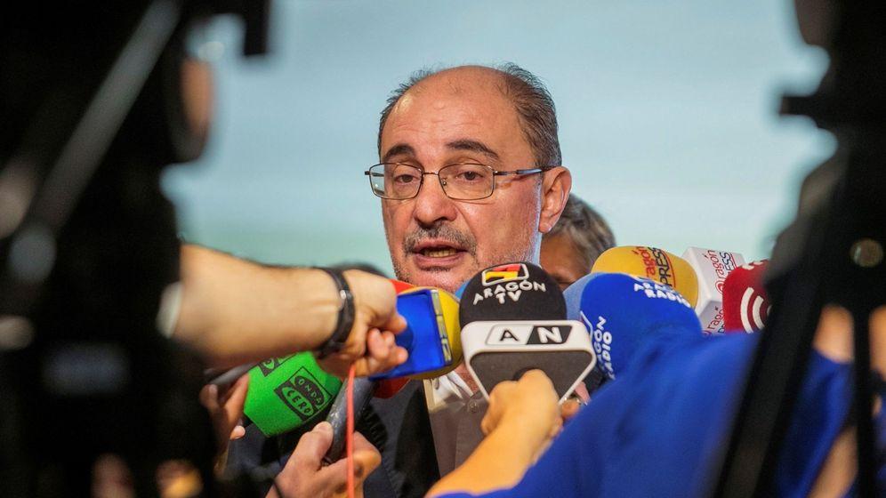 Foto: El candidato del PSOE a la Presidencia de Aragón, Javier Lambán. (EFE)