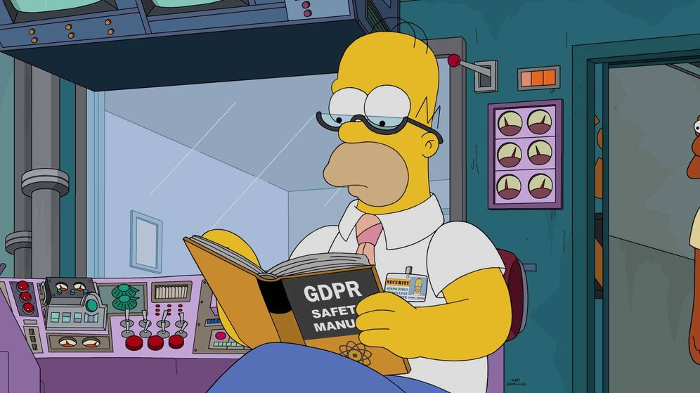 Foto: Manual de GDPR para Homer.