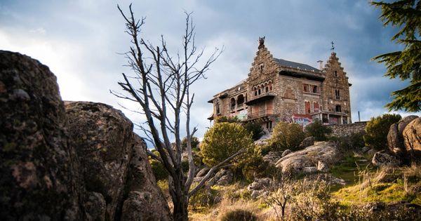 Arquitectura canto del pico el palacio maldito de los franco - Casa de franco torrelodones ...