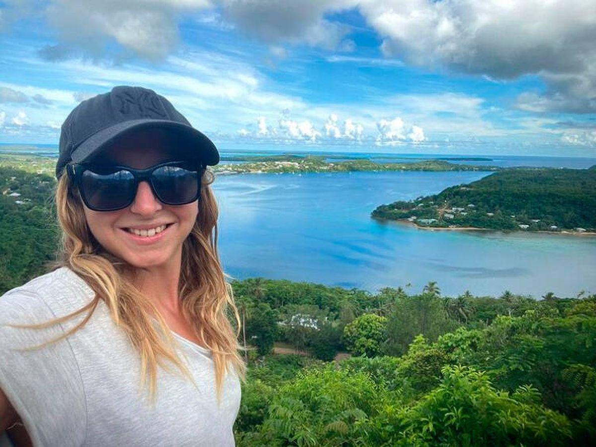 Foto: Zoe lleva casi 18 meses en Tonga sin poder salir (Instagram/tongadiaries)