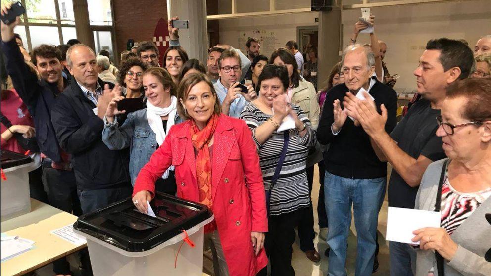 Forcadell: El Estado tiene que explicar al mundo lo que ha hecho en Cataluña
