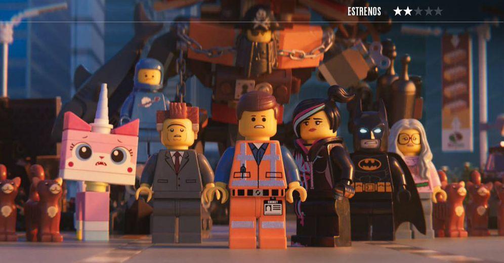 Foto: Un fotograma de 'La LEGO película 2'. (Warner)