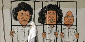 Foto: Los Gadafi, sin la justicia de los Mubarak