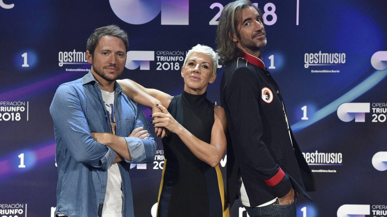 Ana Torroja con los otros miembros del jurado. (RTVE)
