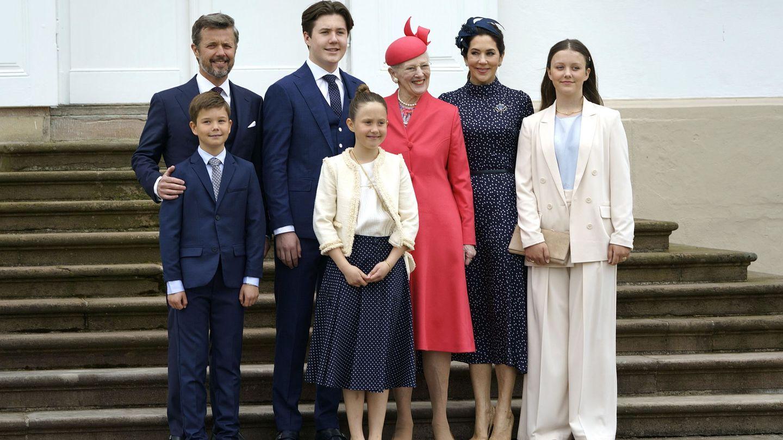 La familia real danesa. (EFE)