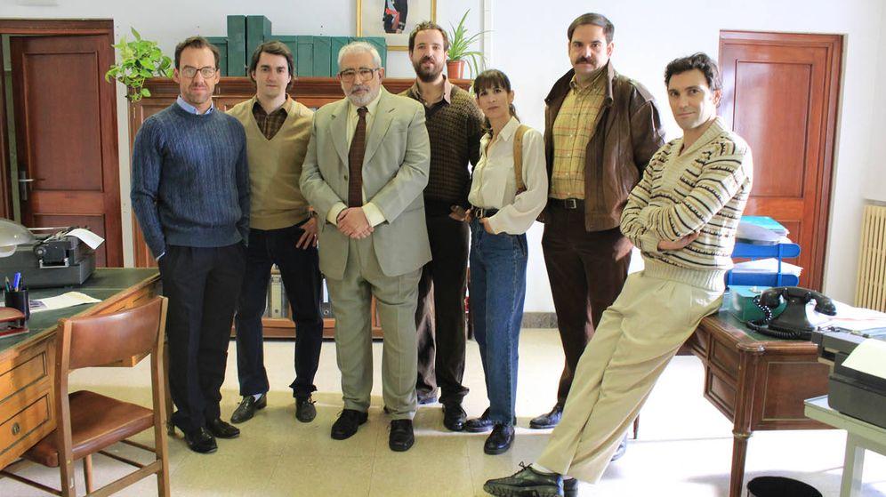 Foto: Protagonistas del espacio 'Grupo 2: Homicidios'. (Mediaset)
