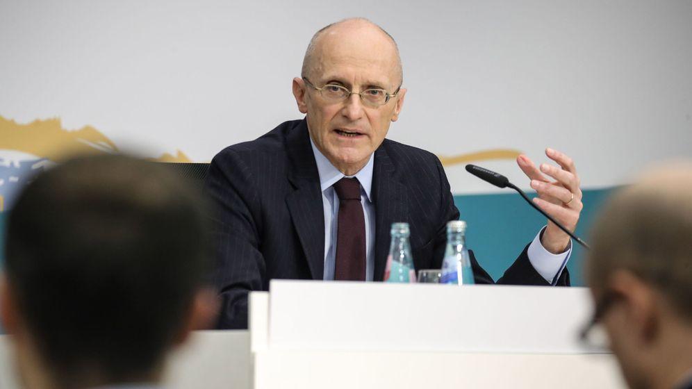 Foto: Andrea Enria, responsable de supervisión bancaria en el BCE. (EFE)