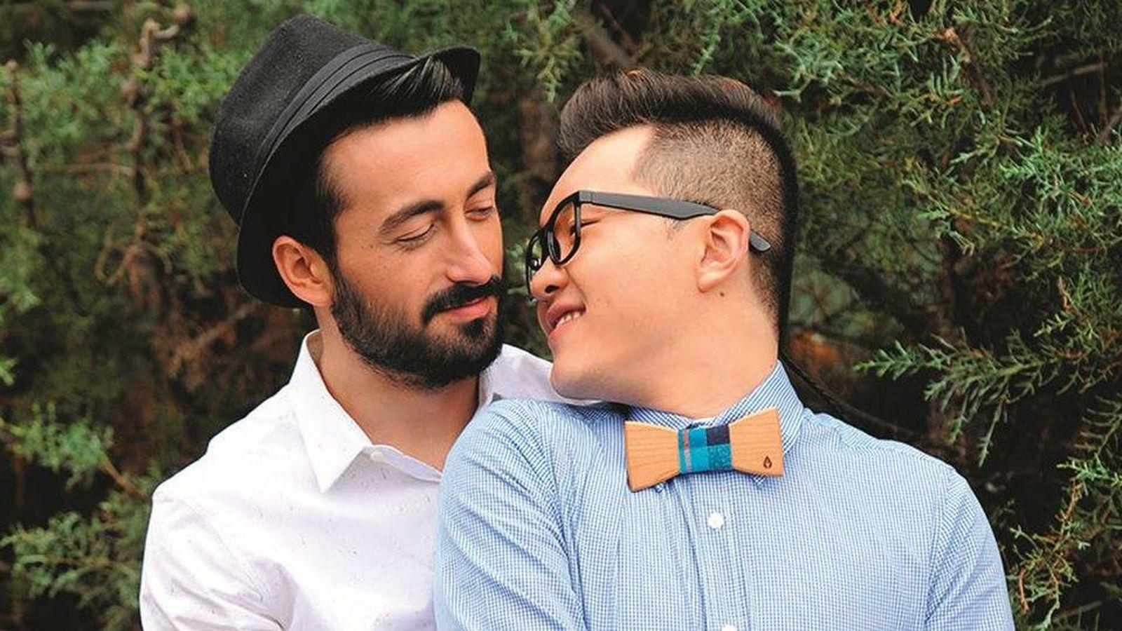 Foto: Han y Aritz, concursantes de 'Gran Hermano 16'. (Lecturas)