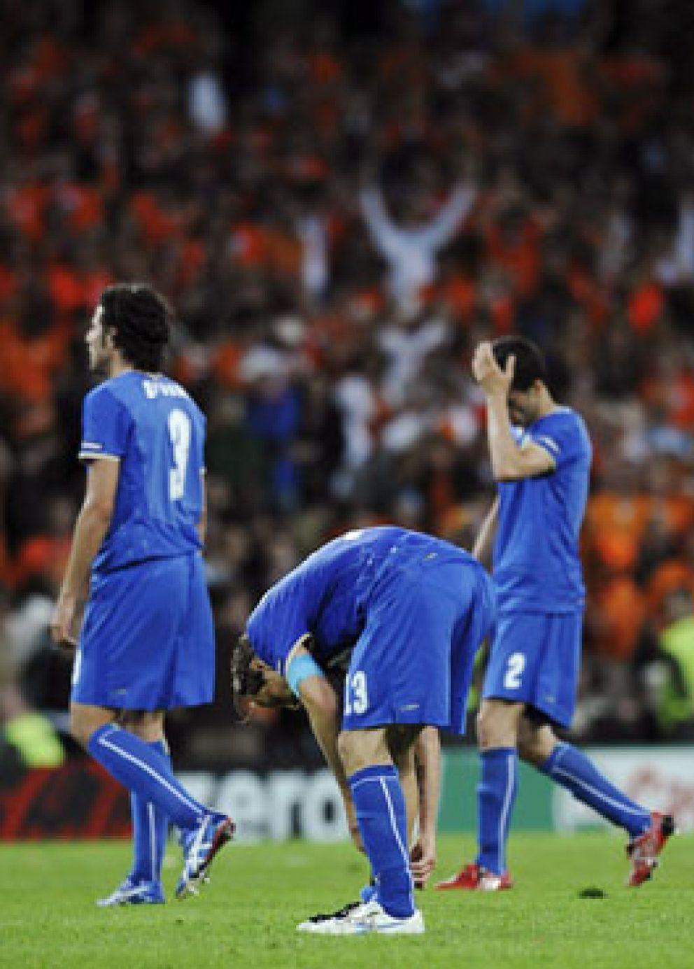 Foto: El orgullo de Italia busca hoy la supervivencia