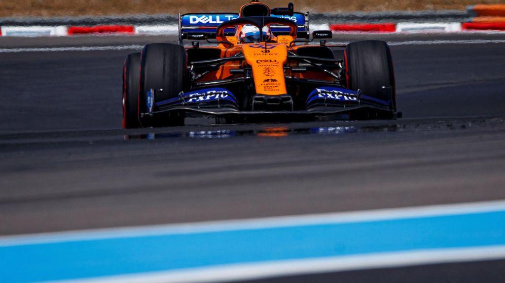 Foto: Carlos Sainz fue el mejor 'del resto' en el Gran Premio de Francia, por delante de Renault y el Red Bull de Pierre Gasly. (EFE)
