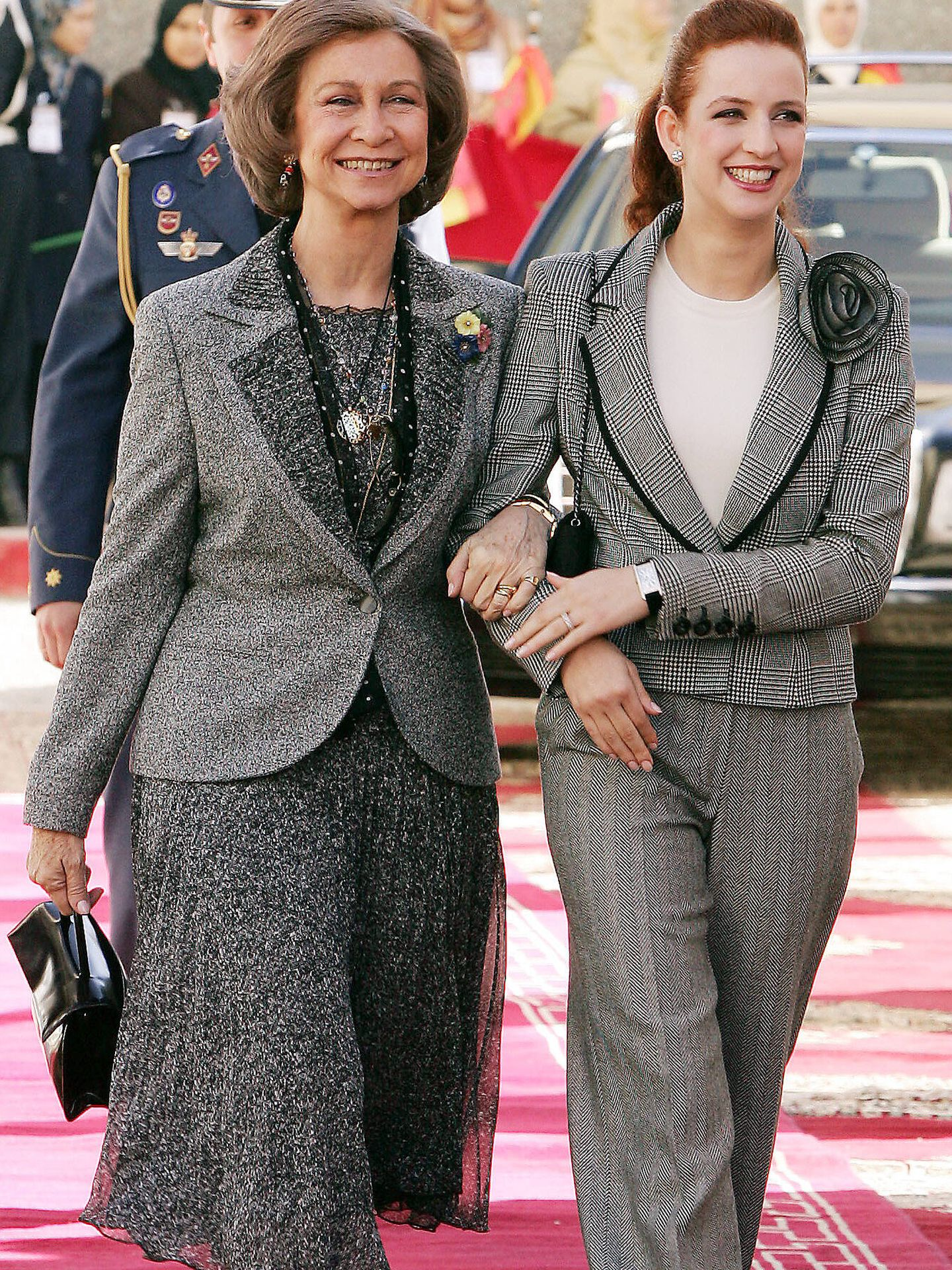 La reina Sofía y la princesa Salma. (Gtres)