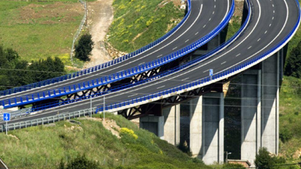 Foto: Autopista de Sacyr en el norte de Chile.