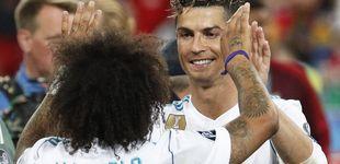 Post de El momento en el que Marcelo se enteró que Cristiano Ronaldo se iba del Real Madrid