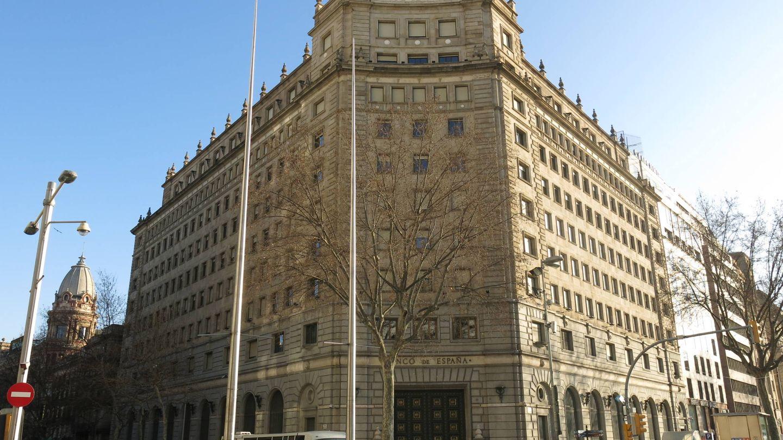 Sede del Banco de España en Barcelona. (EFE)