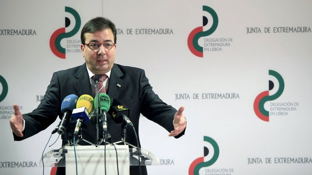 Foto: Guillermo Fernádez Vara, candidato del PSOE a la Junta de Extremadura en una foto de archivo (EFE)