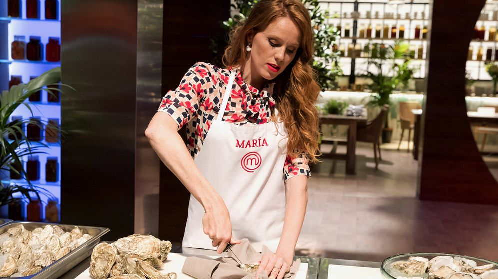 Foto: María Castro, expulsada de 'MasterChef Celebrity'. (TVE)