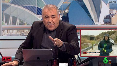 El 112 tira riñe a Ferreras por poner en peligro a un reportero de 'Al rojo vivo'