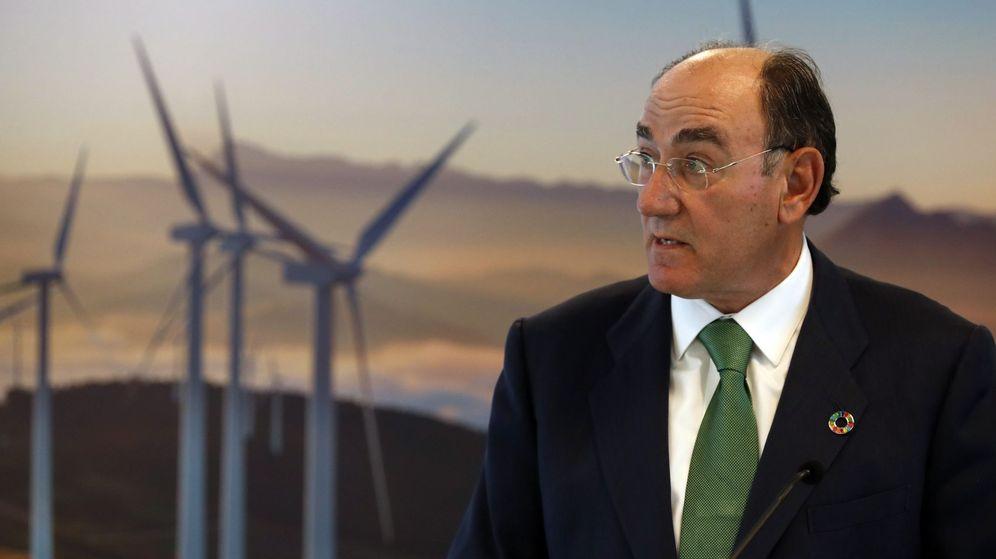 Foto: El presidente de la compañía eléctrica Iberdrola, Ignacio Galán