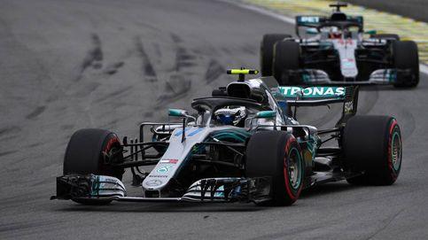 Bottas lidera los entrenamientos libres del GP de Brasil con Alonso 13º y Sainz 14º