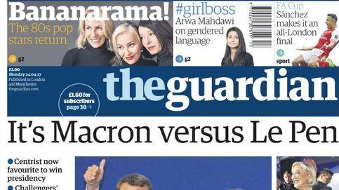 Elecciones en Francia: el 'duelo' Macron-Le Pen, protagonista de la prensa internacional