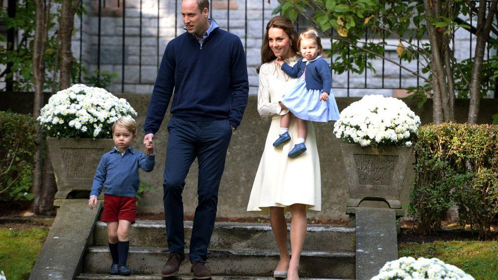 Las monerías de George y Charlotte roban protagonismo a los duques de Cambridge en Canadá