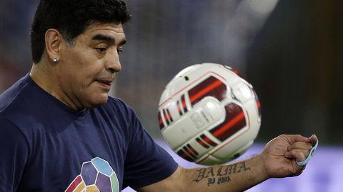 Una foto cazando de Maradona levanta la polémica en las redes sociales