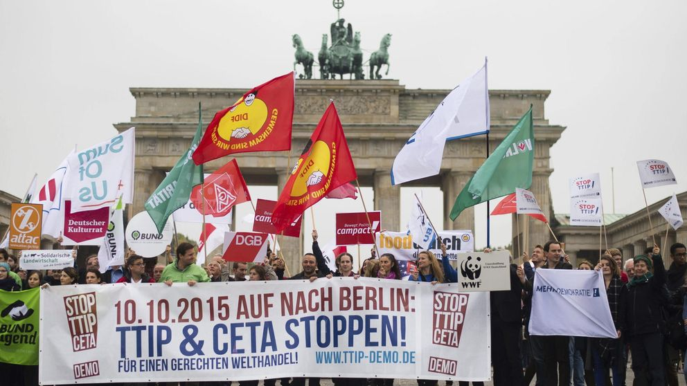 Los sindicatos de EEUU y Alemania se alían para hacer fracasar el TTIP