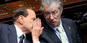 Foto: Bossi dimite como líder del partido Liga Norte por un escándalo de corrupción