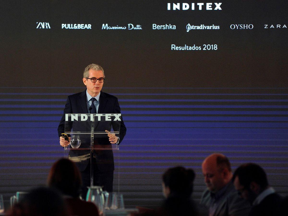 Foto: El presidente de Inditex, Pablo Isla (Efe)