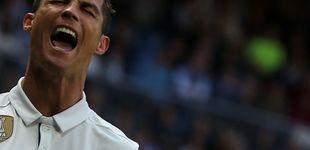Post de El mes sin mojar de Cristiano Ronaldo y el atasco de la 'BBC' antes del Bayern